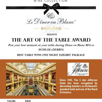 Enter the Art of The Table Contest