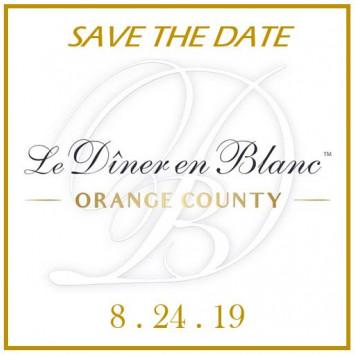 Signed up for 2019 Le Diner en Blanc Orange County news?