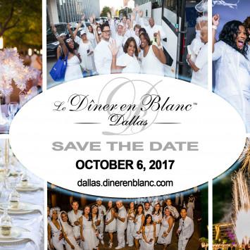 Diner en Blanc Dallas 2017: Save the Date!