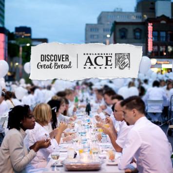 ACE Bakery est la Boulangerie partenaire officielle du Dîner en Blanc Canada