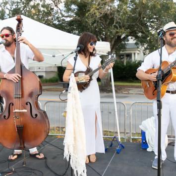 Performing Artists of Charleston's Dîner en Blanc 2018