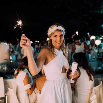Le Diner en Blanc Auckland revealed new Fashion partners and returning collaborations with Perrier-Jouët and Dry & Tea
