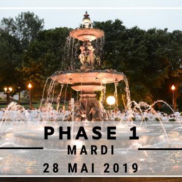 Inscription Phase #1- Le 28 mai