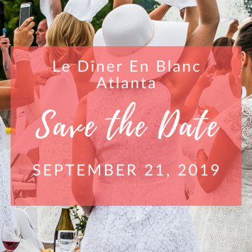 Save The Date - The City's Largest Dinner Party Returns to Atlanta!