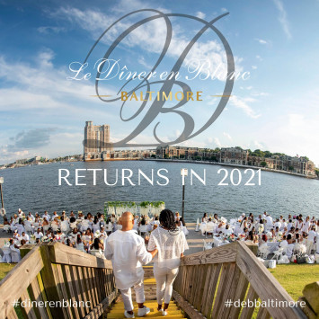 Le Diner en Blanc Baltimore 2020 Postponed