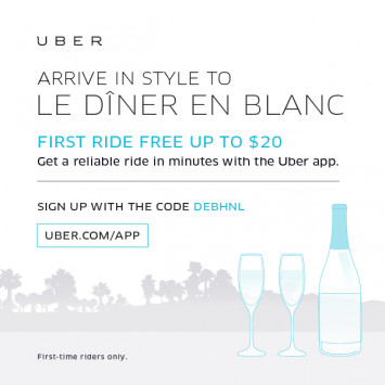 Arrive in Style with Uber!