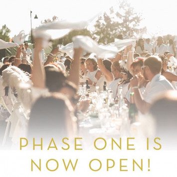 Diner en Blanc Hong Kong 2017 - Phase 1 Now Open!