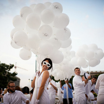 Diner en Blanc's Mysterious Allure to Give Los Angeles a Stunning White Picnic Experience