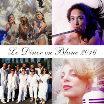 Artistes Invités pour la huitième édition du Dîner en Blanc