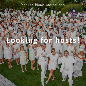 Diner en Blanc International Looking for Hosting Teams