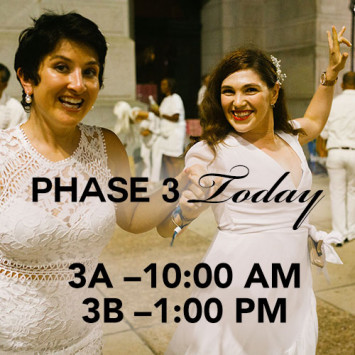 Phase Three is Today!