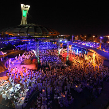 Media Coverage of Montreal's 2013 Dîner en Blanc