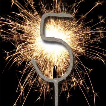 We're Celebrating Year 5