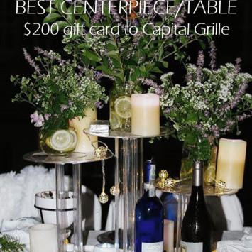 Contest Announcement - Best Centerpiece/Table