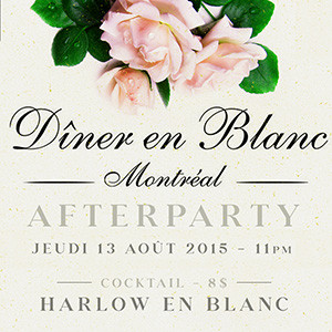 Harlow en Blanc: After Party Officiel !