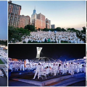 LE DÎNER EN BLANC WILL TAKE OVER ONE OF WEST PALM BEACH'S PUBLIC SPACES