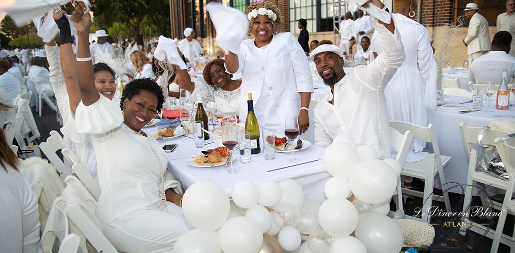 Dîner en Blanc - Atlanta - New Hosts for Le Dîner en Blanc