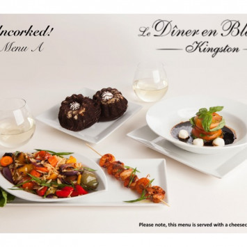 Diner En Blanc Kingston Catered Menus