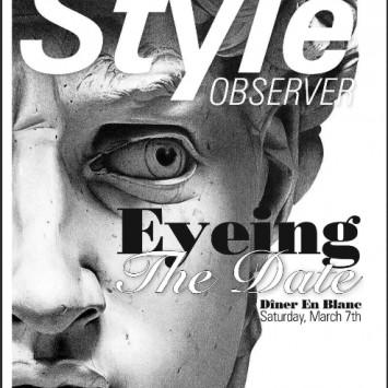 Eyeing the Date - Diner en Blanc Kingston - March 7, 2015