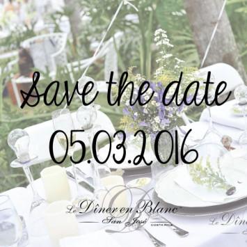 Save the Date! Diner en Blanc San Jose Costa Rica 2016