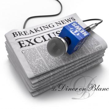 Le Dîner en Blanc in The News - Special Edition!