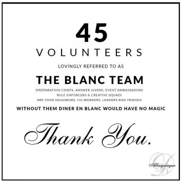 To the Blanc Team
