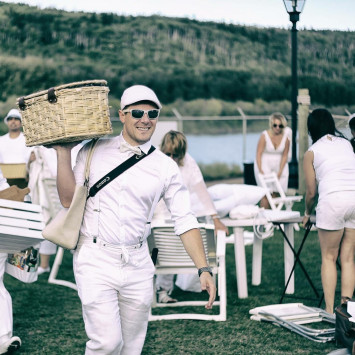 What to expect the day of Diner en Blanc