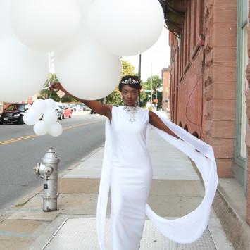 All White, Creative and Elegant Please!