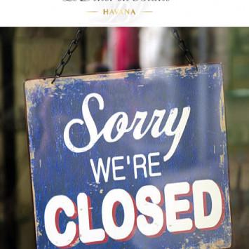 Todas las fases y tienda cerradas