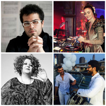 Performing artists of the Dîner en Blanc 2015