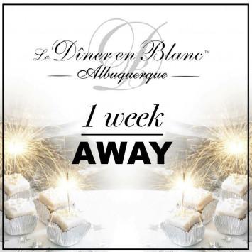 Just a week away!