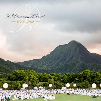 A 5th Edition for Le Dîner en Blanc - Honolulu