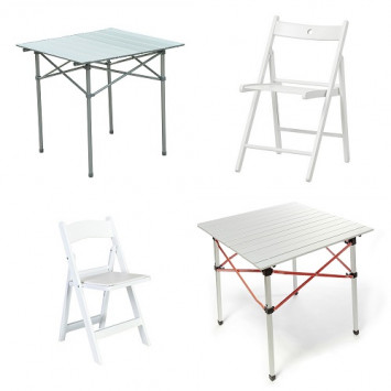 Buy/Rent Folding Tables and Chairs