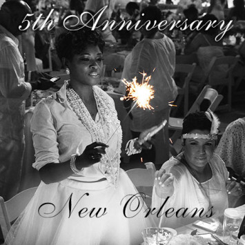 Le Dîner en Blanc – New Orleans celebrates its 5th anniversary!