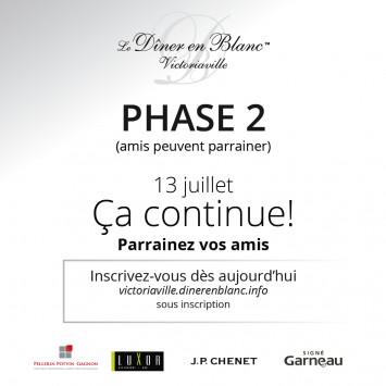 La phase 2 est activée !