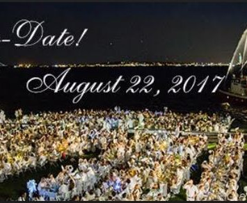 SAVE THE DATE!!! Diner en Blanc 2017 Returns