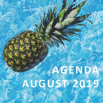 Le Diner en Blanc – Agenda of August 2019