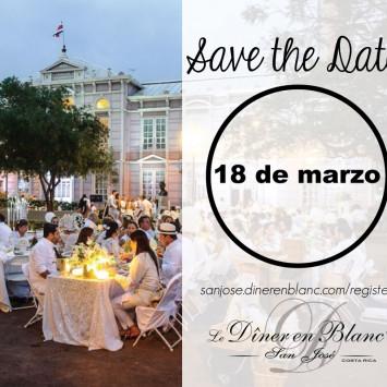 Save the Date! Le Dîner en Blanc - San José, Costa Rica 2017