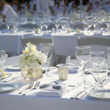 Tables, Linens and Chairs - Oh My