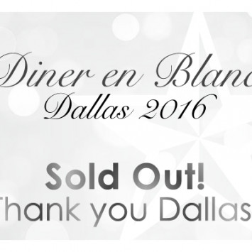 Diner en Blanc Dallas - SOLD OUT!