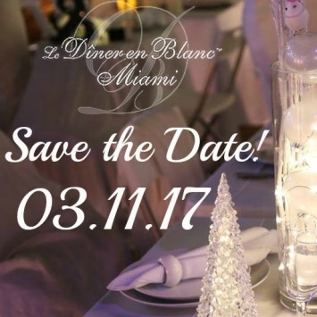 Diner en Blanc Miami - SAVE THE DATE!