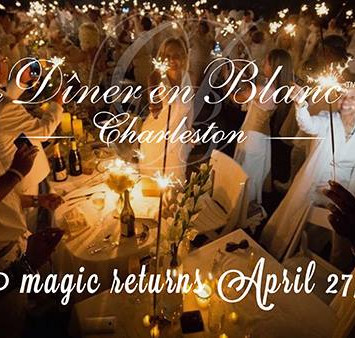 Diner en Blanc returns to Charleston!  Registration is open!