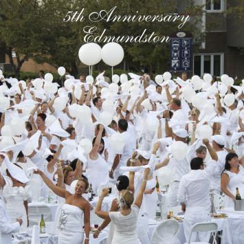 Le Dîner en Blanc - Edmundston celebrates its 5th anniversary!