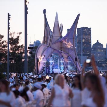 Performing Artists of Montreal's Dîner en Blanc 2019