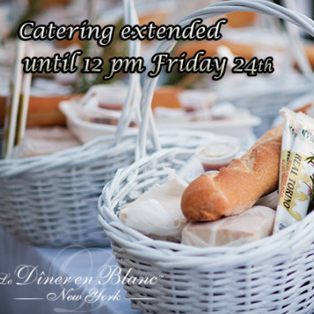 LAST CALL Catering & Beverage Sales: TODAY AT NOON