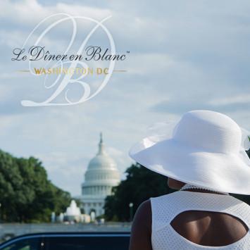Un 5e anniversaire pour Le Dîner en Blanc – Washington DC