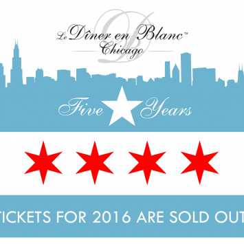 2016, 5-Year Anniversary Event Sold Out in Record Time!