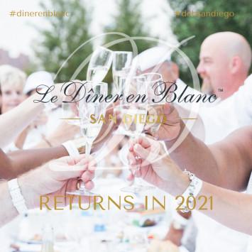 Le Diner en Blanc San Diego Postponed to 2021