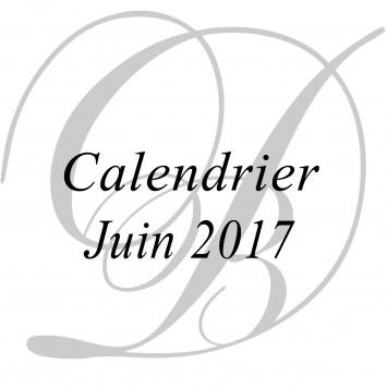 Le Dîner en Blanc : calendrier de juin 2017
