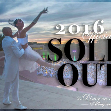 Diner en Blanc Albuquerque 2016: Sold Out!